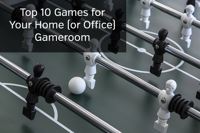 Top Gameroom Games