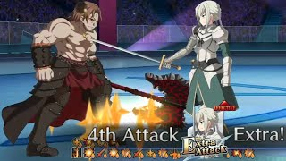 【FGO】3T Bedivere vs Eric Bloodaxe「BE-Witched (Curse)」【Battle in New York 2021】【Fate/Grand Order】