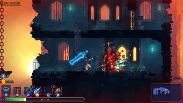 The Broadsword makes short work of even the mightiest enemies. Dead Cells, Developed by Motion Twin.