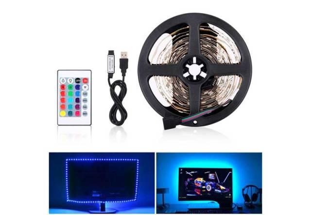 Illuminazione led monitor pc