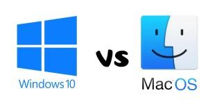 Windows vs. macOS: The Big Debate