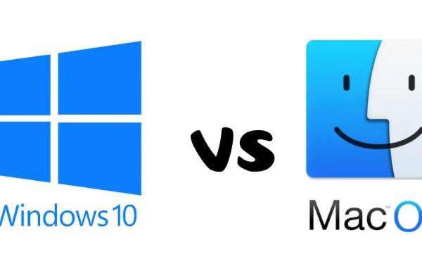 Windows vs. macOS