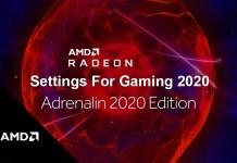AMD Radeon Settings For Gaming