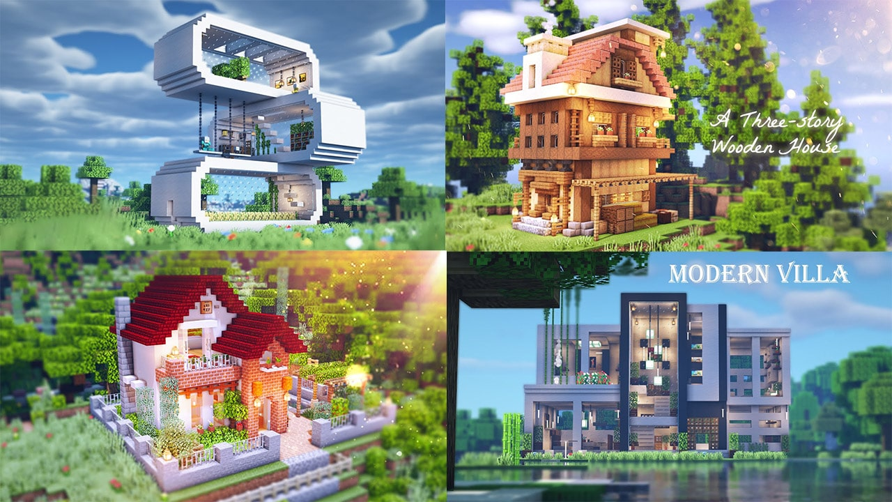 20 Cool House Ideas for Minecraft That Will Blow Your Mind ...