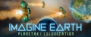 Écran de titre Imagine Earth