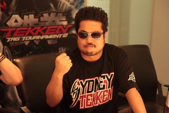 Katsuhiro Harada, o famoso diretor japonês dos jogos da série de lutaTekken.