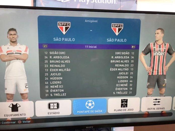 PES 2019 São Paulo FC