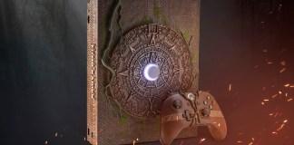 Xbox One X, Leilao, Ebay, Microsoft, Shadow of the Tomb Raider, Xbox