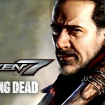 Tekken 7, Negan, The Walking Dead, vilão