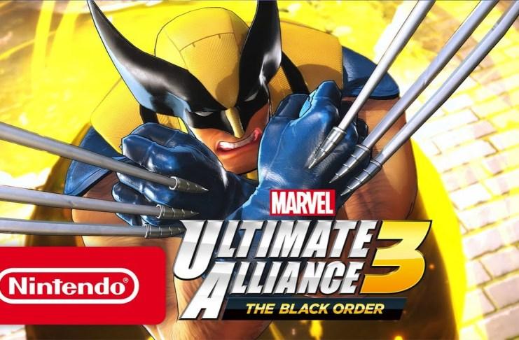 Marvel, Marvel Ultimate Alliance 3, Ultimate Alliance, The Black Order, Switch