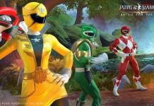 Power Rangers Battle for the Grid, trailer, power ranger