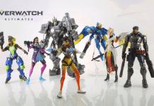 Overwatch, Hasbro, miniaturas, personagens