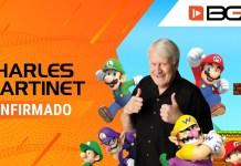 Brasil Game Show 2019, Charles Martinet