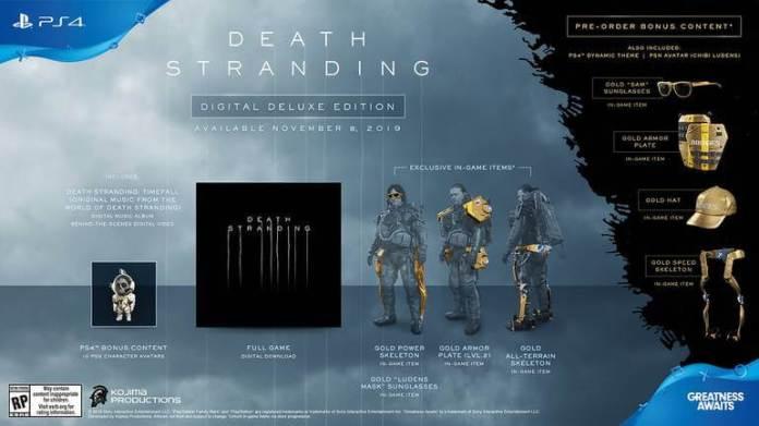 Edição Digital Deluxe- Death Stranding