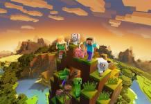 Minecraft mapa comemorativo