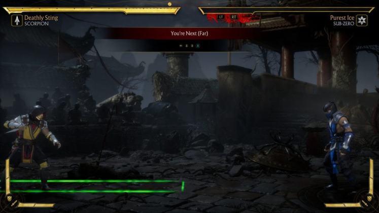 Mortal Kombat 11 Distâncias