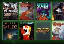 Xbox game pass junho