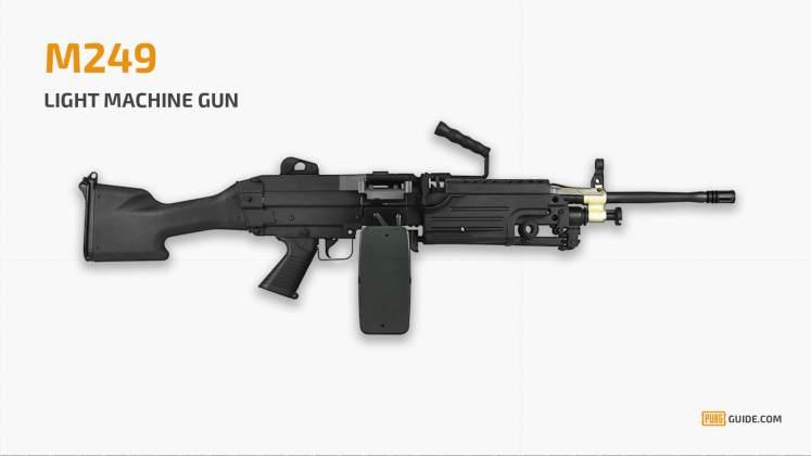 M249 PUBG