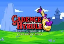 Cadence of Hyrule, Nintendo, lançamento, Legend of Zelda