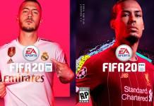 FIFA 20 hazard van dijk Demo, ps4 xbox one pc