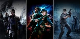Resident Evil 5 e 6 Capcom Switch