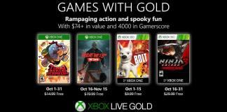 Games with Gold donos de xbox, Xbox One, Xbox 360