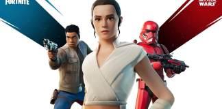 Fortnite, Epic Games, Star Wars, Rey,Finn, Sith Trooper