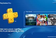 PlayStation Plus, Bioshock: The Collection, The Sims 4, Firewall Zero Hour