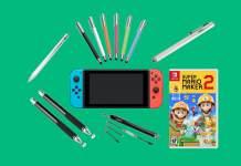 Nintendo Switch, Nintendo, Stylus