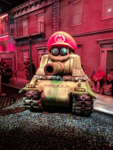 A tank captured by Cappy