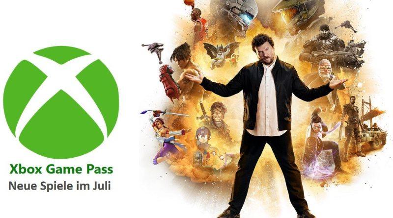 Xbox Geschäft Xbox Game Pass Juli