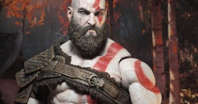 God of War SDCC Kratos Replika