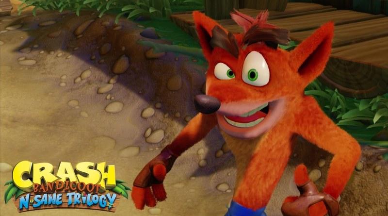 Crash Bandicoot N Sane Trilogy PS4 Xbox One Titel