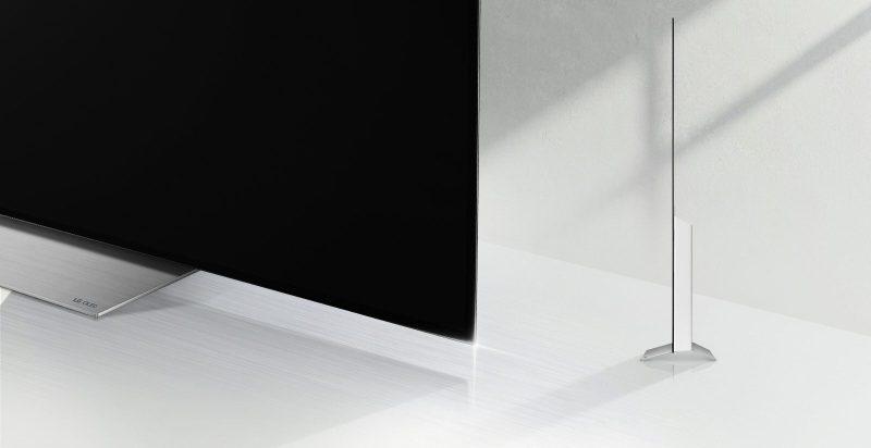 LG 55C7D OLED 4K HDR TV Gaming Heimkino Seite