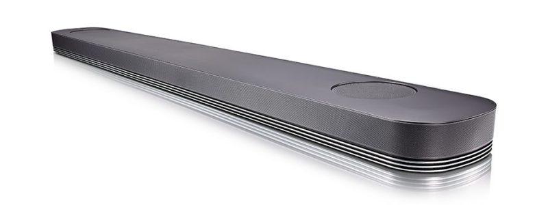 LG Soundbar SJ9 Dolby Atmos Front Gaming Heimkino Nah Winkel