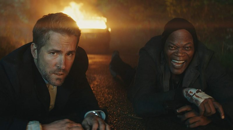 Bodyguard Killer's Bodyguard Fox Action Komödie Review Ryan Reynolds Samuel L. Jackson