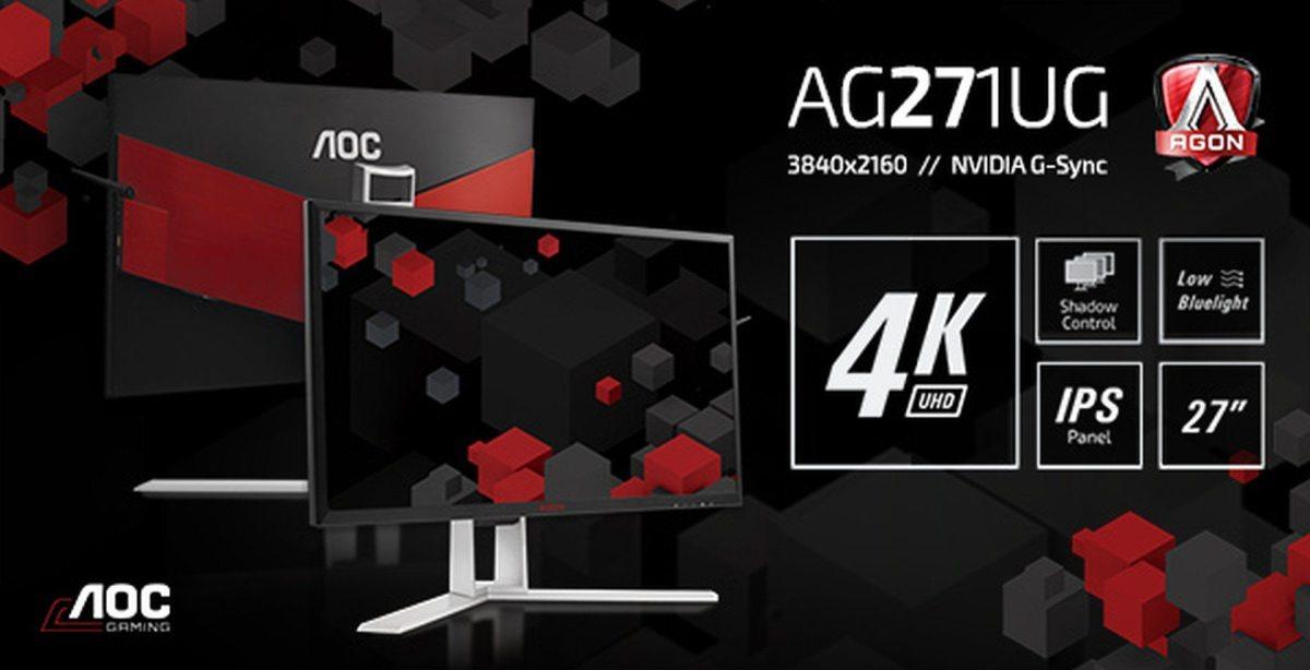 AOC AGON AG271UG - Ist die Zeit für 4K schon reif?
