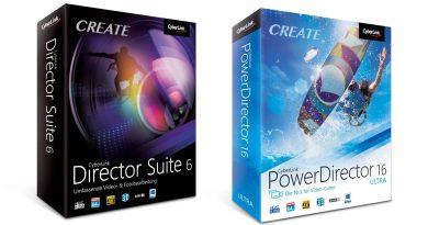 CyberLink Director Suite 6 PowerDirector 16 Videobearbeitung Tite Review Testl
