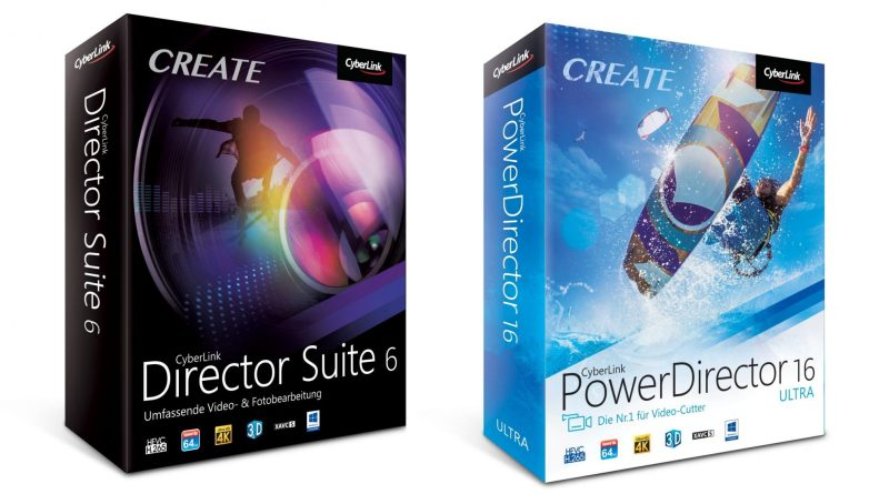 CyberLink Director Suite 6 PowerDirector 16 Videobearbeitung Tite Review Testl