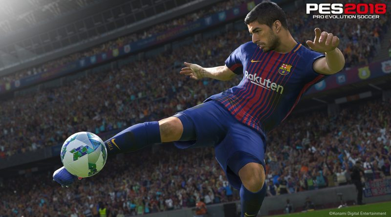 PES 2018 Pro Evolution Soccer 2018 PS4 Xbox One PC Titel