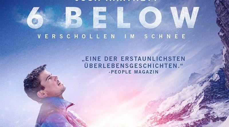 6 Below Verschollen im Schnee Josh Hartnett Eric LeMarque Review Universum Film
