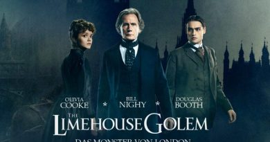The Limehouse Golem Horror Thriller Krimi Bill Nighy Test Review Titel 2