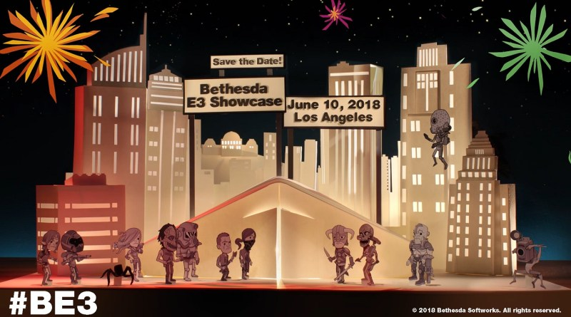 Bethesda E3 Showcase E3 2018 BE3 Titel