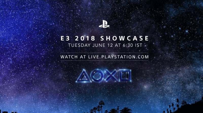 PlayStation E3 2018 Showcase Sony PlayStation 4 Pro Titel