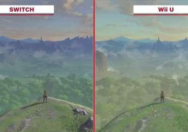 Comparación gráfica de Zelda Breath of the Wild Wii U vs Switch-GamersRD