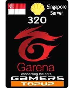 Garena Shells 320 SG