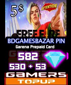 Bd gamesBazar Pin 5 usd