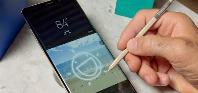 Samsung Galaxy Note 8 tiene la mejor pantalla de smartphone del mercado