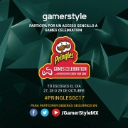 Gamer Style te regala boletos para Pringles Games Celebration 2017