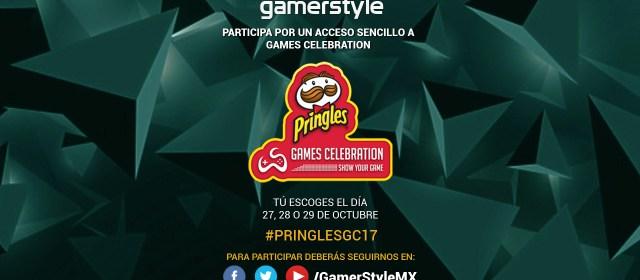 Gamer Style te regala boletos para Pringles Games Celebration 2017